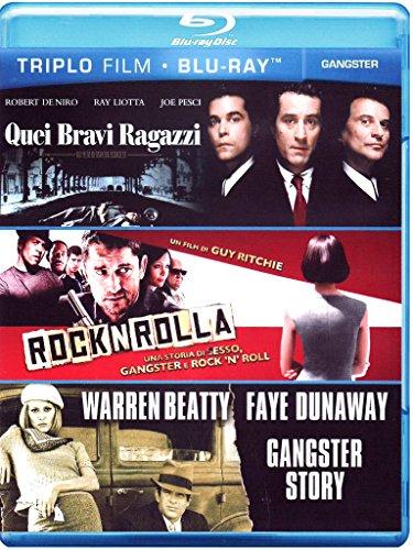 Quei bravi ragazzi + Rocknrolla + Gangster story [Blu-ray] [IT Import]