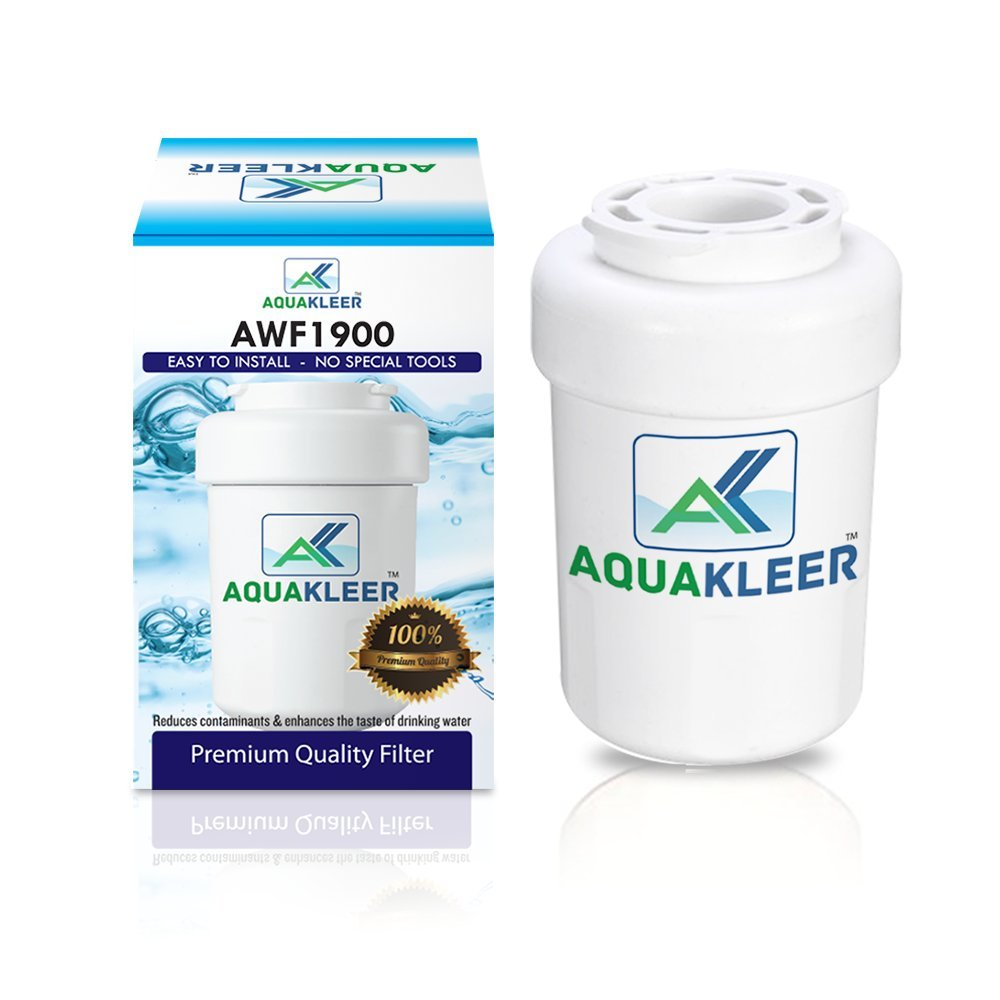 GE SmartWater MWF Compatible Replacement Refrigerator Water Filter Cartridge by AquaKleer