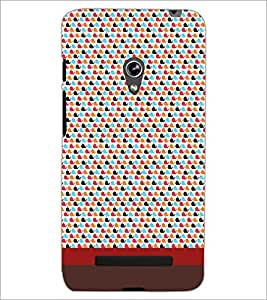 PrintDhaba Fish Pattern D-1853 Back Case Cover for ASUS ZENFONE 5 A501CG (Multi-Coloured)