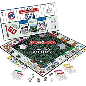 USAopoly 110717 Chicago Cubs Collectors Edition Monopoly