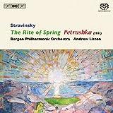 ストラヴィンスキー:ペトルーシュカ (1911年版)/春の祭典 (Stravinsky : Rite of Spring / Litton , Bergen Phil) (SACD Hybrid)