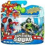 Marvel Superhero Squad Series 17 Mini 3 Inch Figure 2Pack Reptile & Dr. Doom