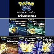 Pokemon Go: Diaries of a Pikachu, Second 5 in 1: Pokemon Go Series, Books 6 - 10 | Tagashi Takashima
