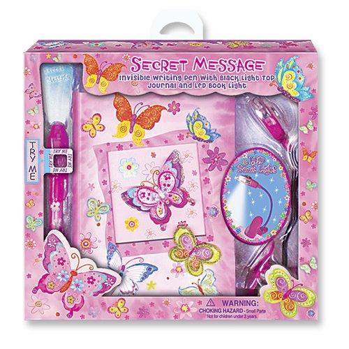 Children's Butterfly Secret Message Journal Set