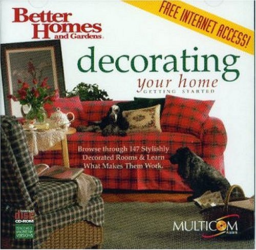 Better Homes & Gardens Decorating Your Home (Win/Mac)