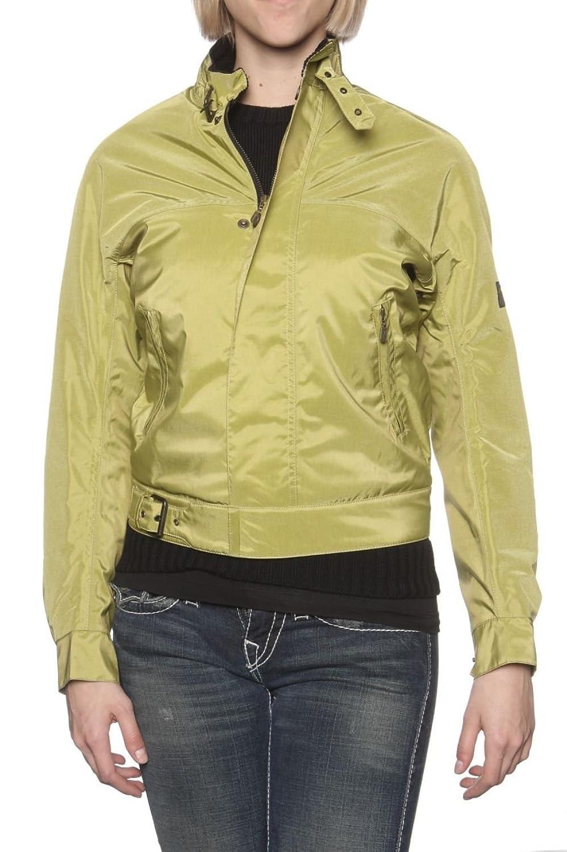 Belstaff Damen Jacke Blouson-Jacke PIRAT BLOUSON DE LUXE, Farbe: Gruen günstig online kaufen
