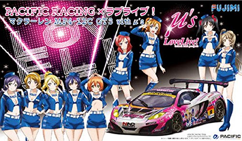 1/24スケール PACIFIC RACING×ラブライブ マクラーレン MP4-12C GT3 withμ's