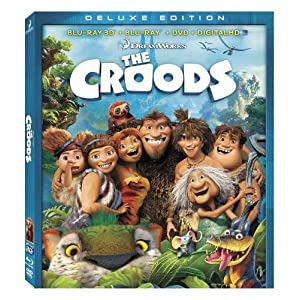 The Croods (Blu-ray 3D / Blu-ray / DVD + Digital Copy): Nicolas Cage, Emma Stone, Ryan Reynolds, Catherine Keener, Cloris Leachman images