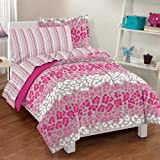 Leopard Ultra Soft Microfiber Comforter Sheet Set