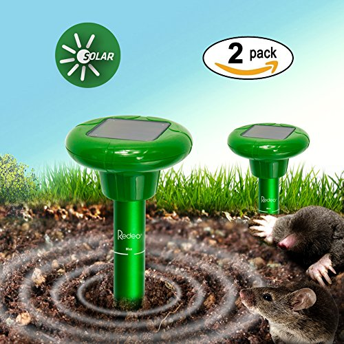 Solar Mole Gopher Repeller