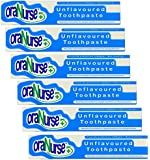 Oranurse 50ml Unflavoured Toothpaste (Pack of 6)