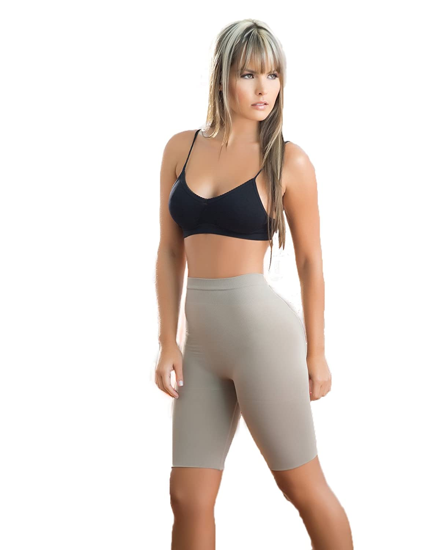 Damen nahtlos Shorts mit Taille, Hüfte und Bauch kontrol.Verwenden Größe Verifier Tabelle, um sicherzustellen, die richtige Passform. Formt die Oberschenkel. Foam, dass das Gesäß erhöht und hebt. günstig bestellen