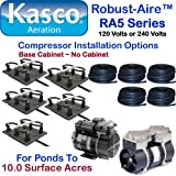 Kasco Marine Robust-Aire Aquatic Aeration System RA5NC - For Ponds to 10.0 Surface Acres, 120 Volts, No Cabinet Included