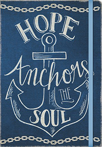 Studio Oh! Compact Deconstructed Journal, Hope Anchors the Soul