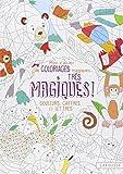 Mon cahier de coloriages très magiques - Couleurs, chiffres et lettres...