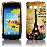 Huawei Ascend G520 G525 TPU Silikon Paris La Tour