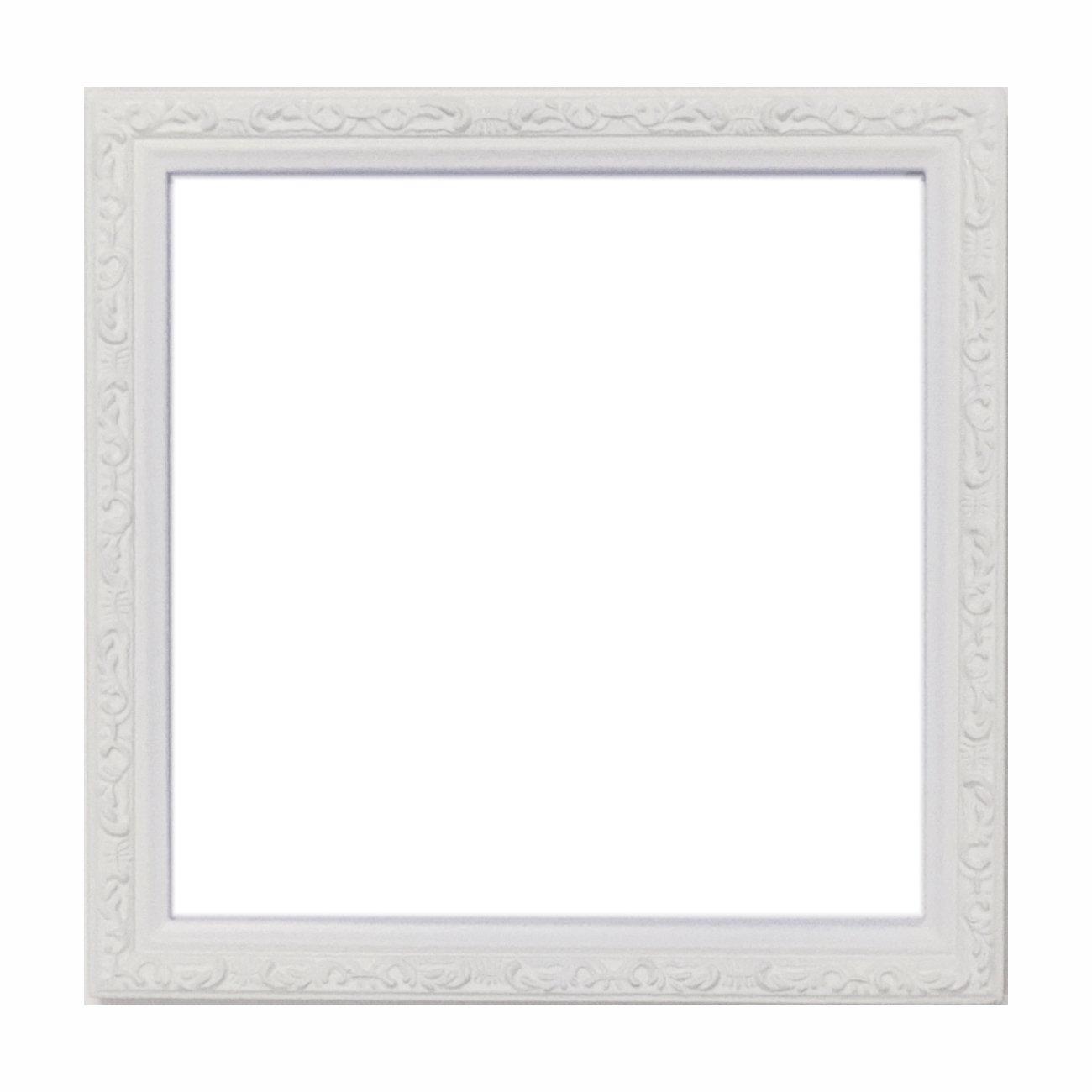 正方形额縁 15角(150×150mm) w101 (白色)