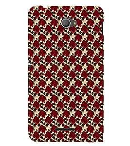 ifasho Designer Phone Back Case Cover Sony Xperia E4 :: Sony Xperia E4 Dual ( Hip Hop Classic Art Style Guy )