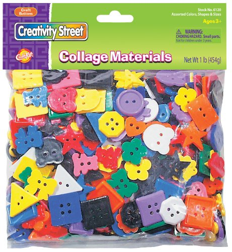 Chenille Kraft Big Bag of Plastic Buttons