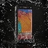 Easylife™ Samsung Note 3 Wasserdichte Staubdichte & stoßfeste Vollschutz Hülle Dauerhafte Voll versiegelte Schutzhülle für Samsung Note 3 (Schwarz)