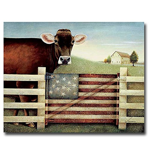 Proud Gate by Lowell Herrero Premium Gallery-Wrapped Canvas Giclee Art (Ready-to-Hang) artistic home gallery 3636638s abulia by nancy santos premium stretched oversize canvas wall art