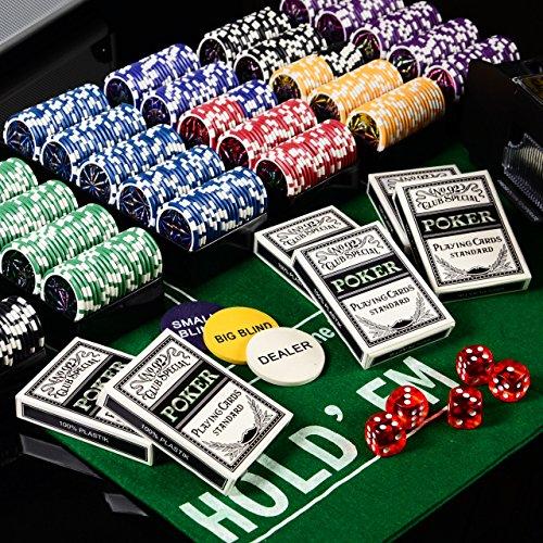 Pokerkoffer 600 Pokerchips OCEAN CHAMPI...