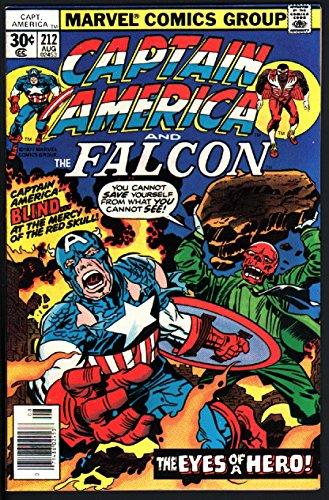 CAPTAIN AMERICA #212-1977-RARE MARK JEWELERS VARIANT-HTF (Captain America 212 compare prices)