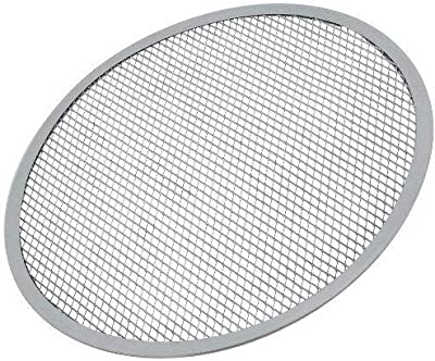 Pizza Tray - 12-Inch Aluminum Pizza Screen - Helps the pizza to cook faster