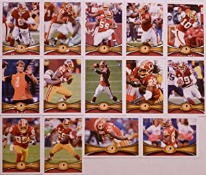 2012 Topps Football Washington Redskins Team Set In a Protective Case - 14 cards... by Topps