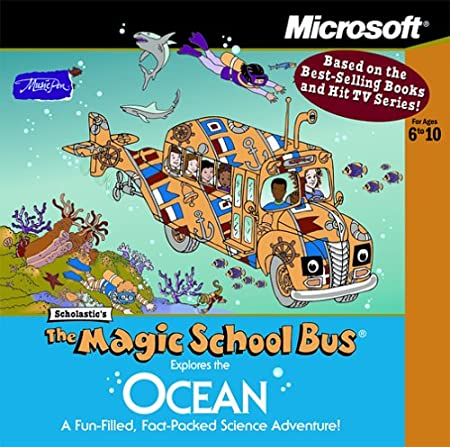 The Magic School Bus Explores the Ocean (Jewel Case) [Old Version]
