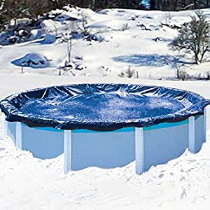28 39 round 8 yr above ground swimming pool for Garden pool covers