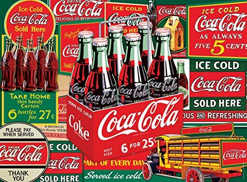 Buffalo Games Coca-Cola: Evergreen - 1000 Piece Jigsaw Puzzle by Buffalo Games