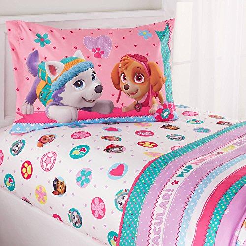 paw patrol puppy girls pink twin comforter u0026 sheets 4 piece kids bed in a bag homemade wax melt