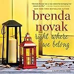 Right Where We Belong: Silver Springs, Book 4 | Brenda Novak