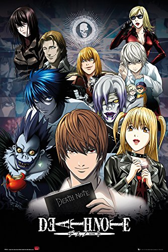 GB eye, Death Note, Collage, Maxi Poster, 61x91.5cm