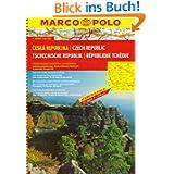 MARCO POLO Reiseatlas Tschechische Republik 1:200.000 (Marco Polo Road Atlases)