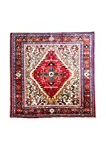 QURAMA Alfombra Persian Tuserkan Rojo/Multicolor 138 x 128 cm
