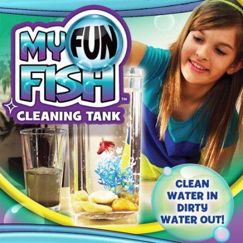 CPEX Amazing Fun Fish Cleaning Tank Fish Aquarium