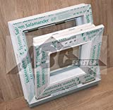 Kunststofffenster Kellerfenster Salamander 40x40 cm (b x h), weiß, Kippöffnung
