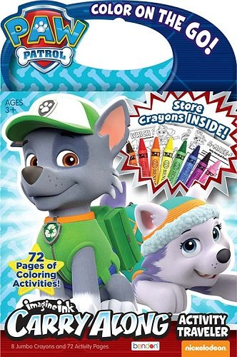 Paw Patrol Color on the Go Carry Along Activity Traveler - 1