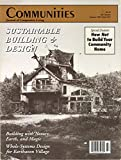 img - for Communities Magazine #95 (Summer 1997) - Sustainable Building and Design book / textbook / text book