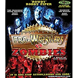 Pro-Wrestlers Vs. Zombies [Blu-ray]
