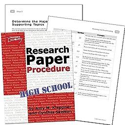 Teachers Discovery Research Paper Procedure 2009