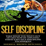 Self Discipline: Take What You Want Out of Life Now by Applying These Easy Self Discipline Techniques | Sherell Brown-Mitchell