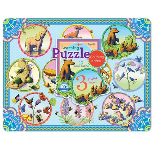 Counting Animals Tray Puzzle - 1