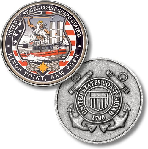 USCG Station Kings Point NY Challenge Coin