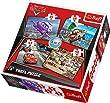 Trefl - 34107 - Puzzle 4 en 1 Cars - 35-48-54-70 Pi�ces