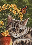 Bucilla Heirloom Collection Afternoon Nap Counted Cross Stitch Kit-5