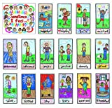 Carson Dellosa Kid-Drawn Emotions Bulletin Board Set (3250)