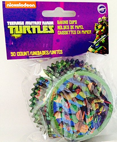 Best Review Of Teenage Mutant Ninja Turtles Baking Cups 50 Count